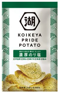 KOIKEYA PRIDE POTATO 濃厚のり塩