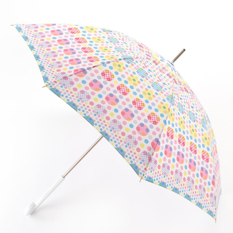 ランダムドット雨傘