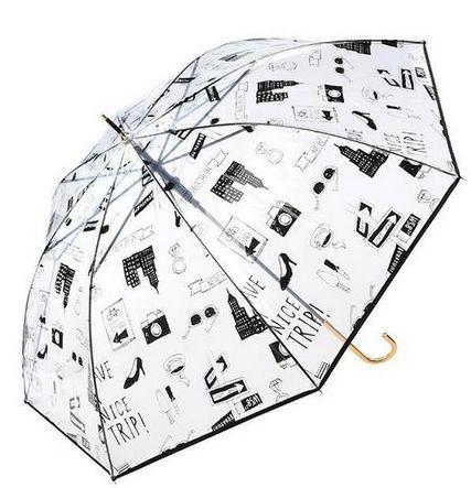 ブルックリン柄傘