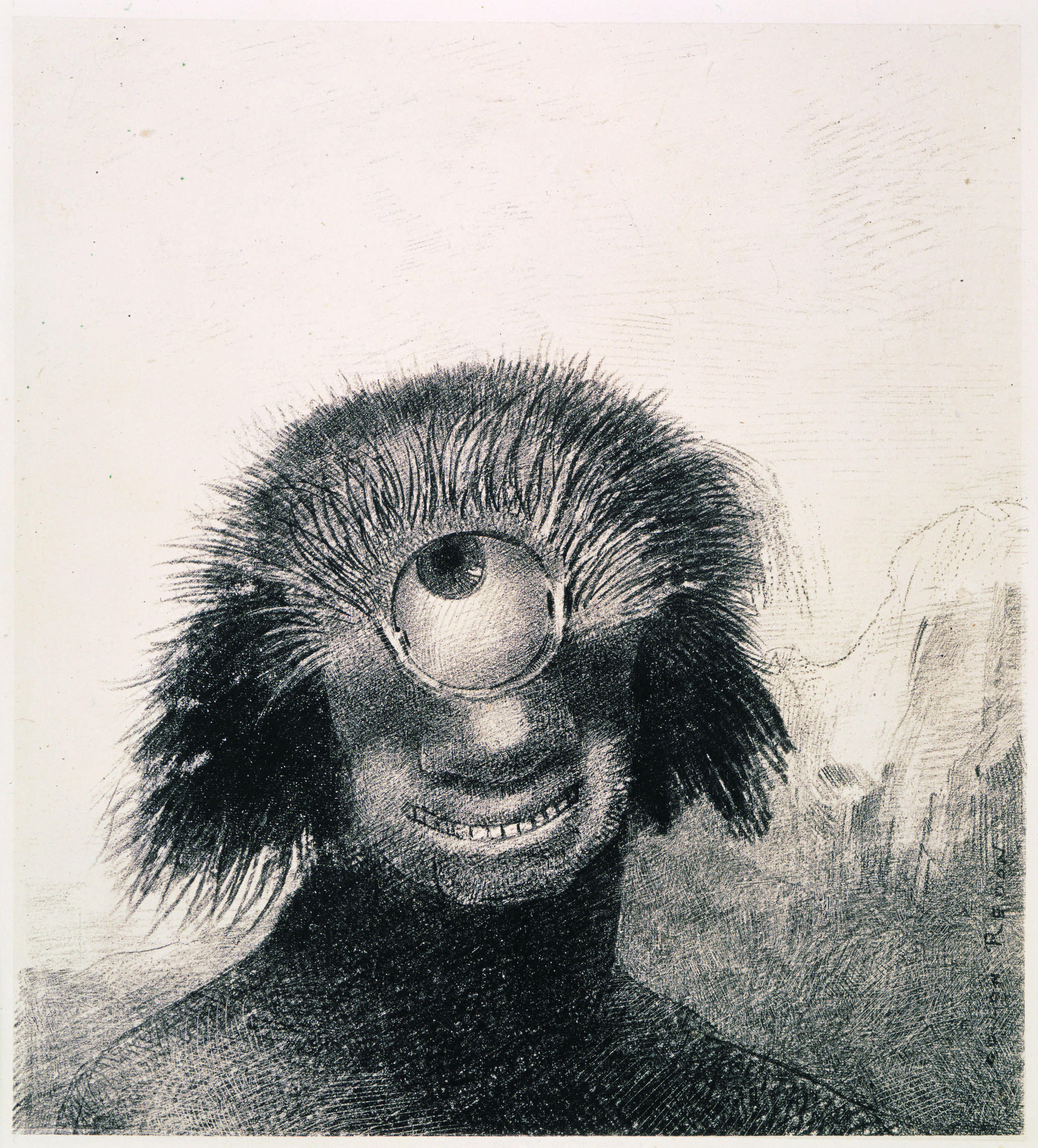 《Ⅲ.不恰好なポリープは薄笑いを浮かべた醜い一つ目巨人のように岸辺を漂っていた》『起源』