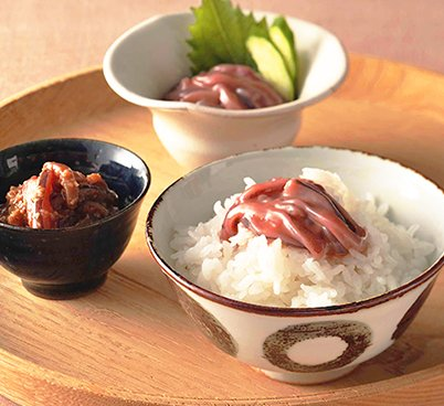 函館 いか塩辛 醤油漬(山わさび入り)
