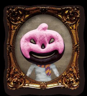 ブラックジャックランタンドーナツのマスクド・レディ
