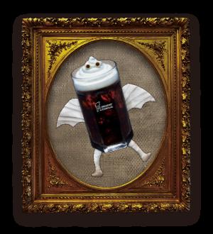 アイスコーヒーミイラのコッフィ