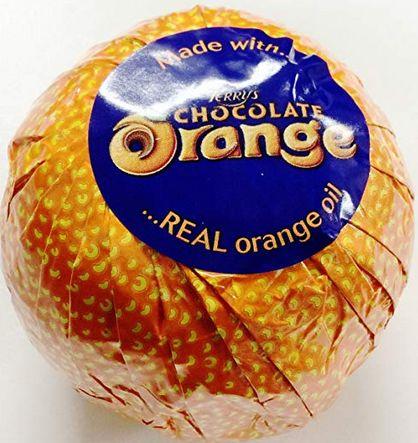 テリーズのオレンジチョコレートミルク